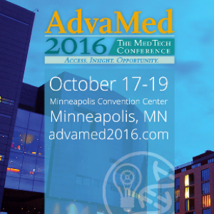 Exhibiting at Advamed 2016 in Minneapolis
