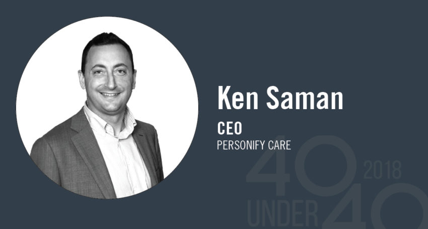 40 Under 40 winner of the day: Ken Saman