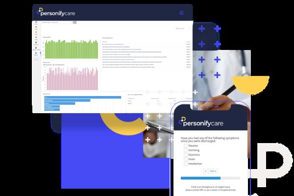Personify Care desktop patient proms collection